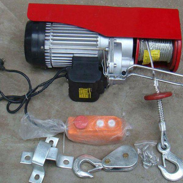 四川客户小型电动葫芦发货通知